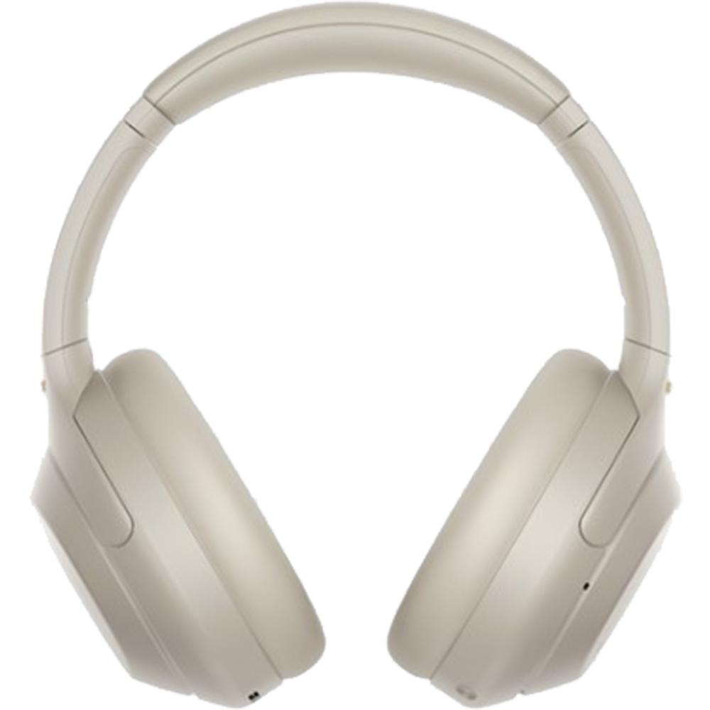 Casti Wireless Bluetooth WH-1000XM4 Over Ear, Noise Cancelling, Microfon, NFC, Argintiu