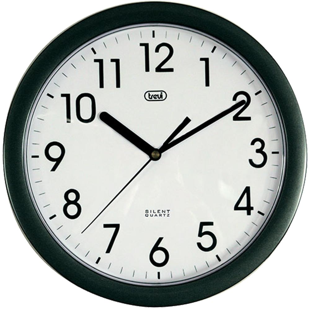 Ceas De Perete 25cm Negru