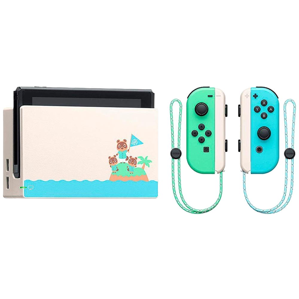Consola Switch Animal Crossing New Horizons Special Edition Blue/Green