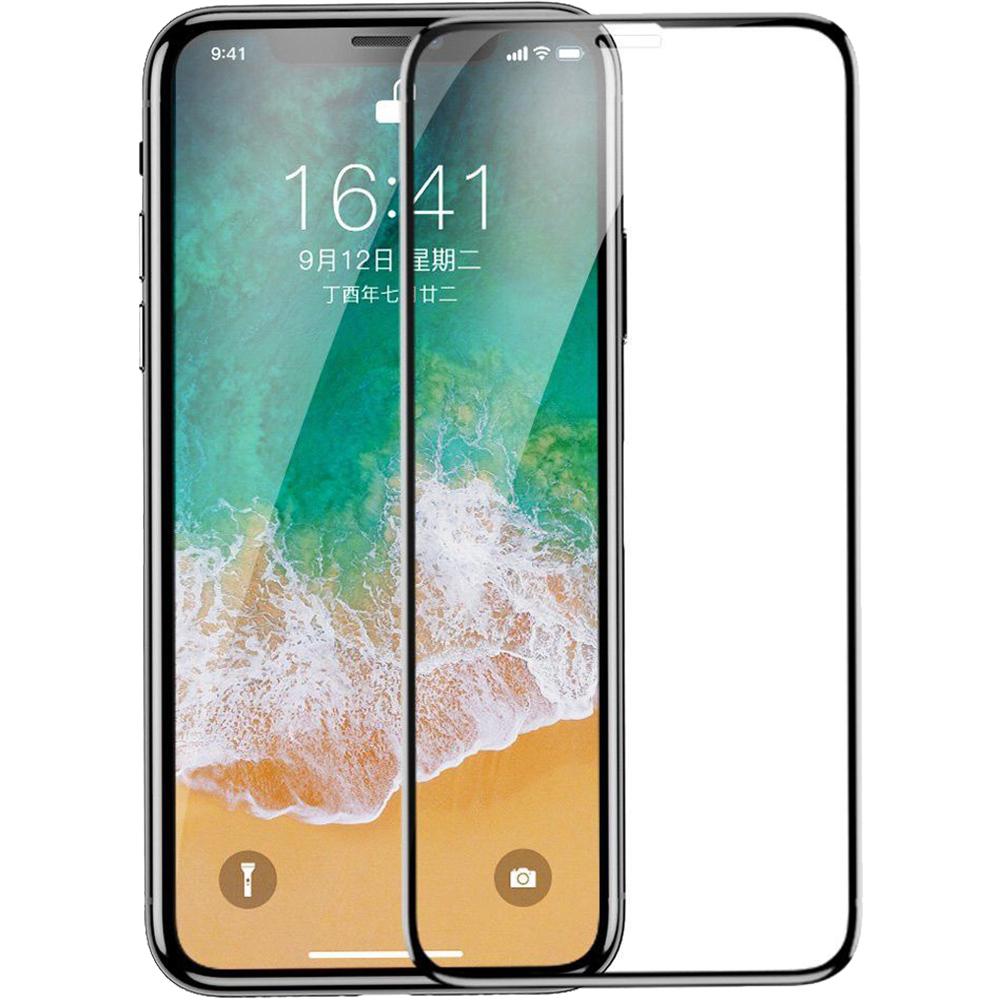 Folie De Protectie Sticla securizata 3D Negru APPLE iPhone 11, iPhone XR