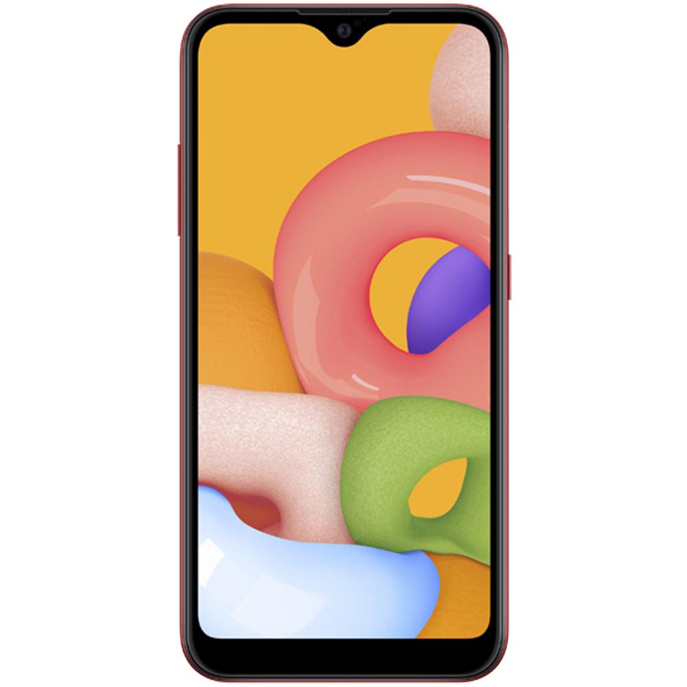 Galaxy A01 Dual Sim Fizic 16GB LTE 4G Rosu
