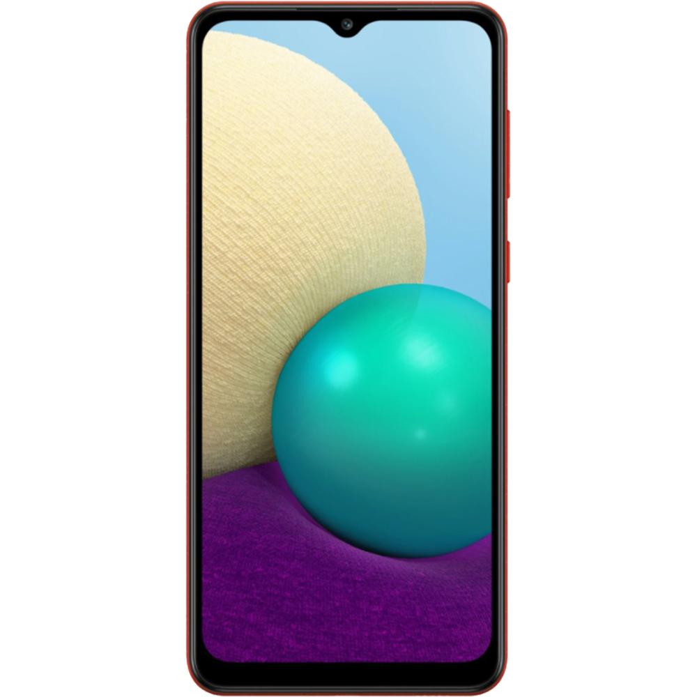 Galaxy A02 Dual Sim Fizic 32GB LTE 4G Rosu 3GB