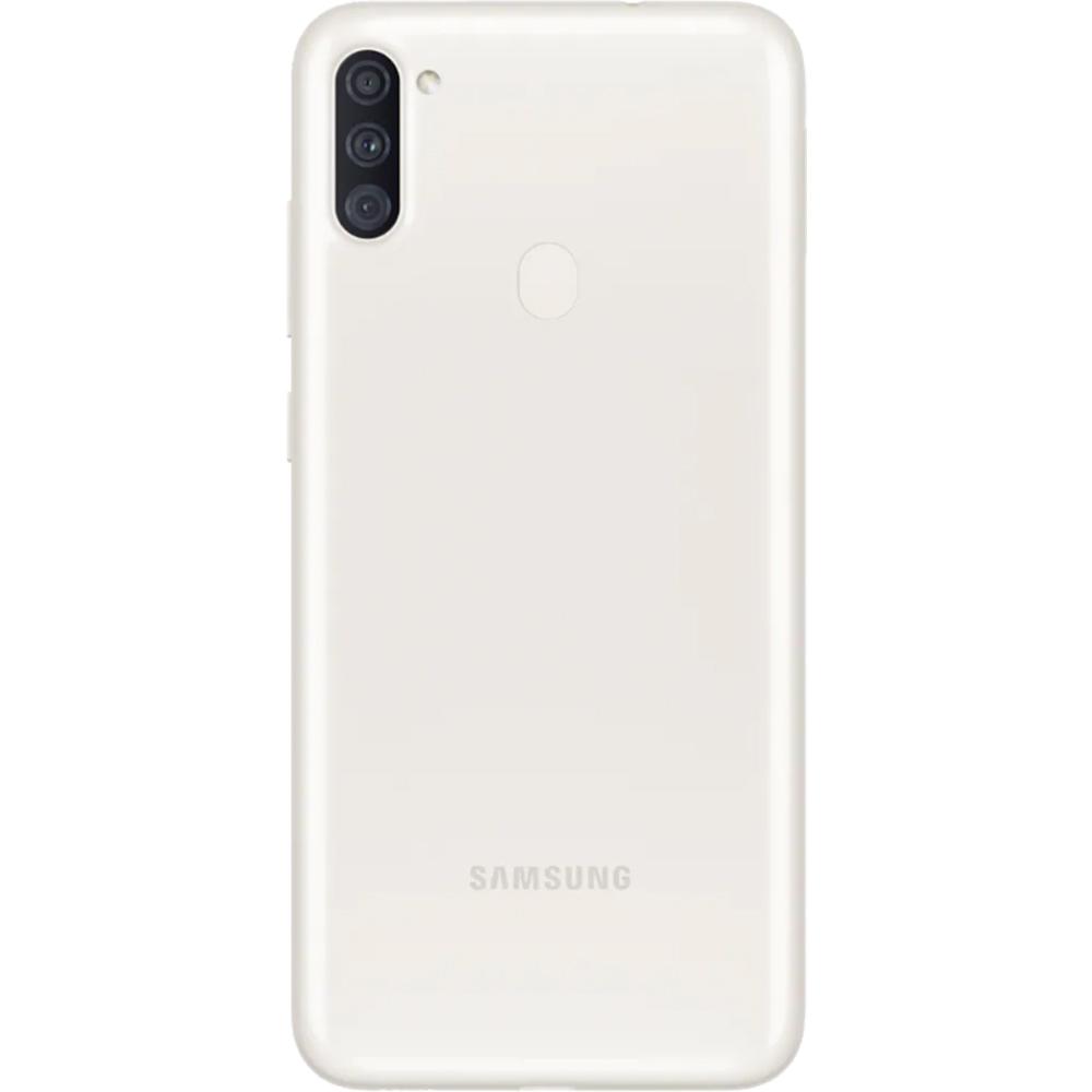 Galaxy A11 Dual Sim Fizic 32GB LTE 4G Alb 2GB RAM