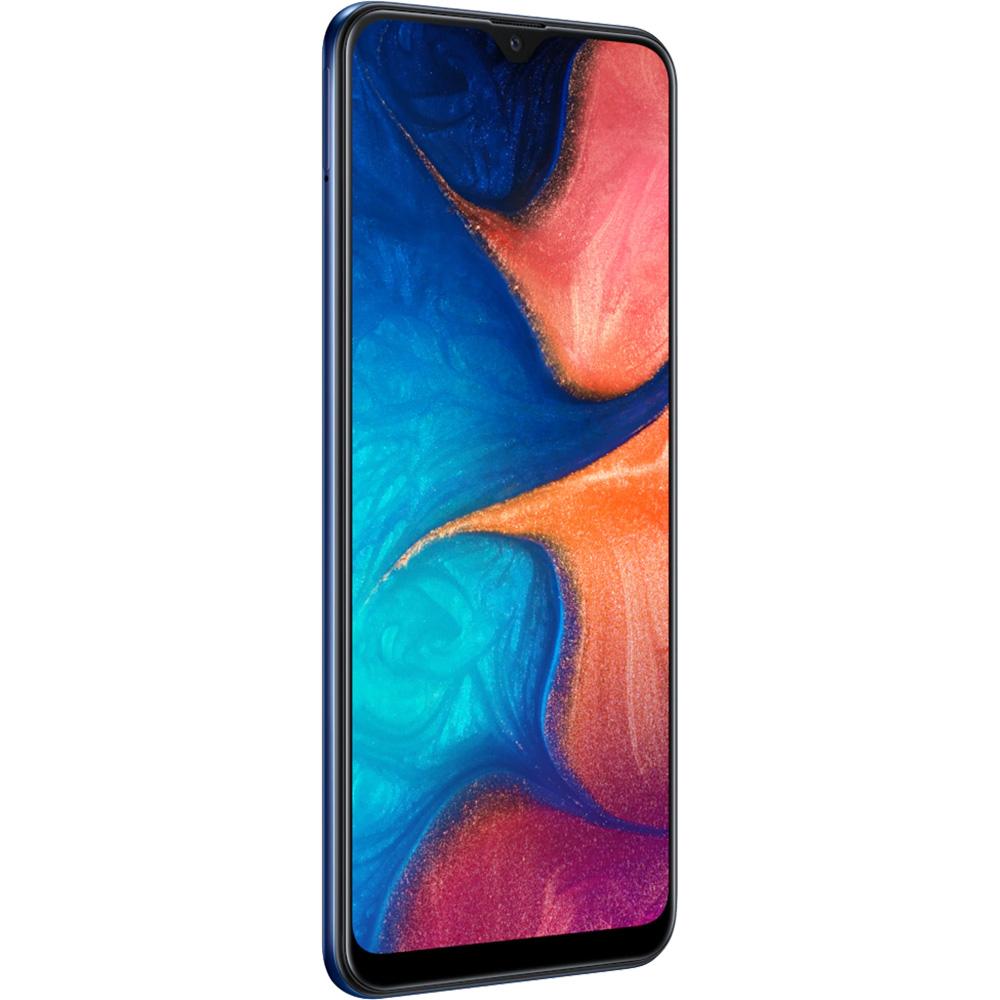 Galaxy A20 Dual Sim Fizic 32GB LTE 4G Albastru 3GB RAM