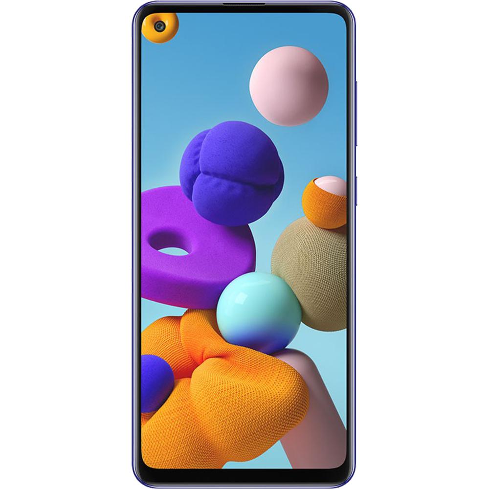 Galaxy A21s Dual Sim Fizic 64GB LTE 4G Albastru 4GB RAM