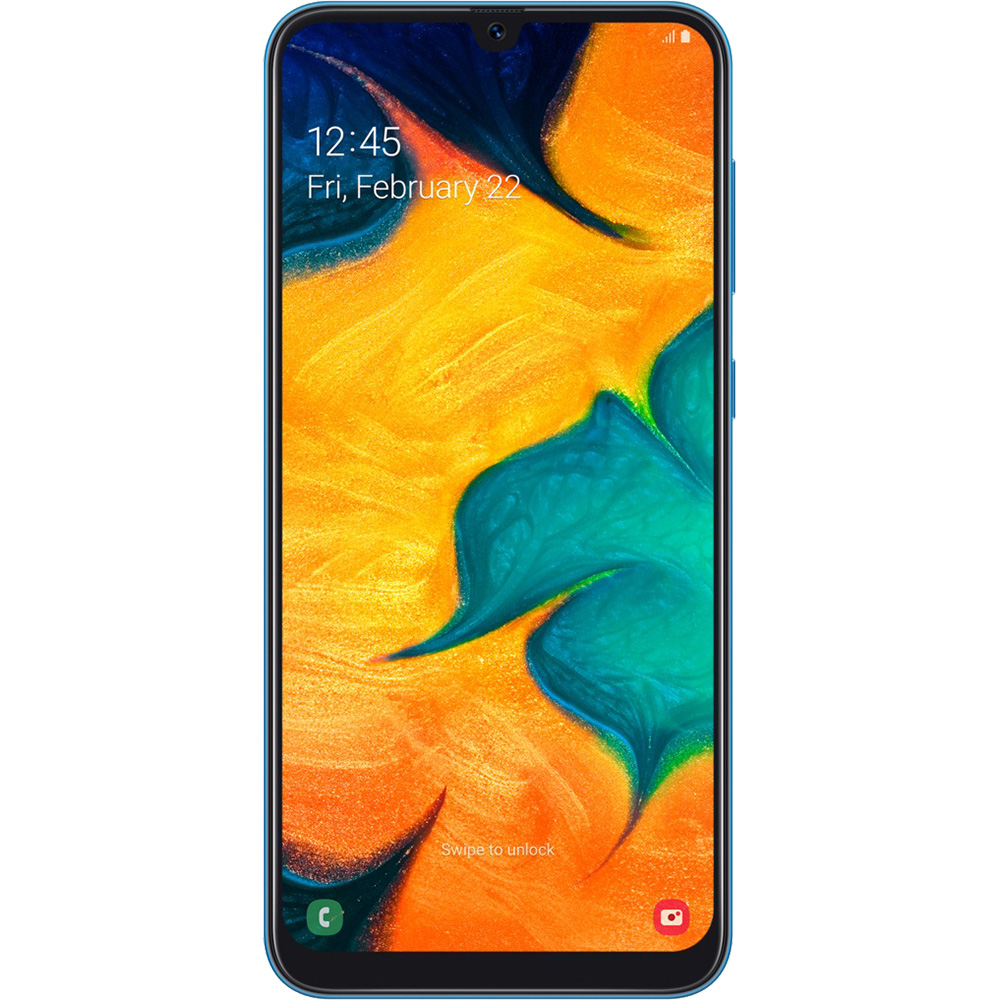 Galaxy A30  Dual Sim 64GB LTE 4G Albastru  4GB RAM