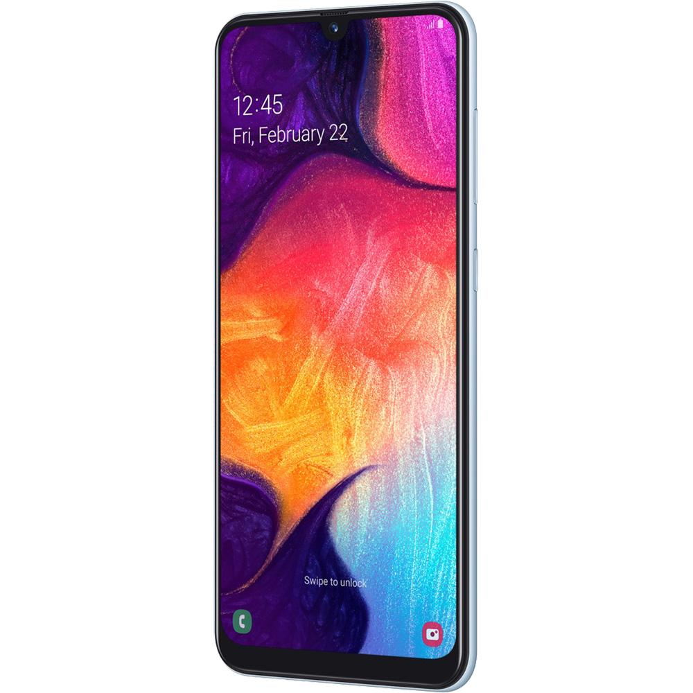Galaxy A50 Dual Sim Fizic 128GB LTE 4G Alb 6GB RAM