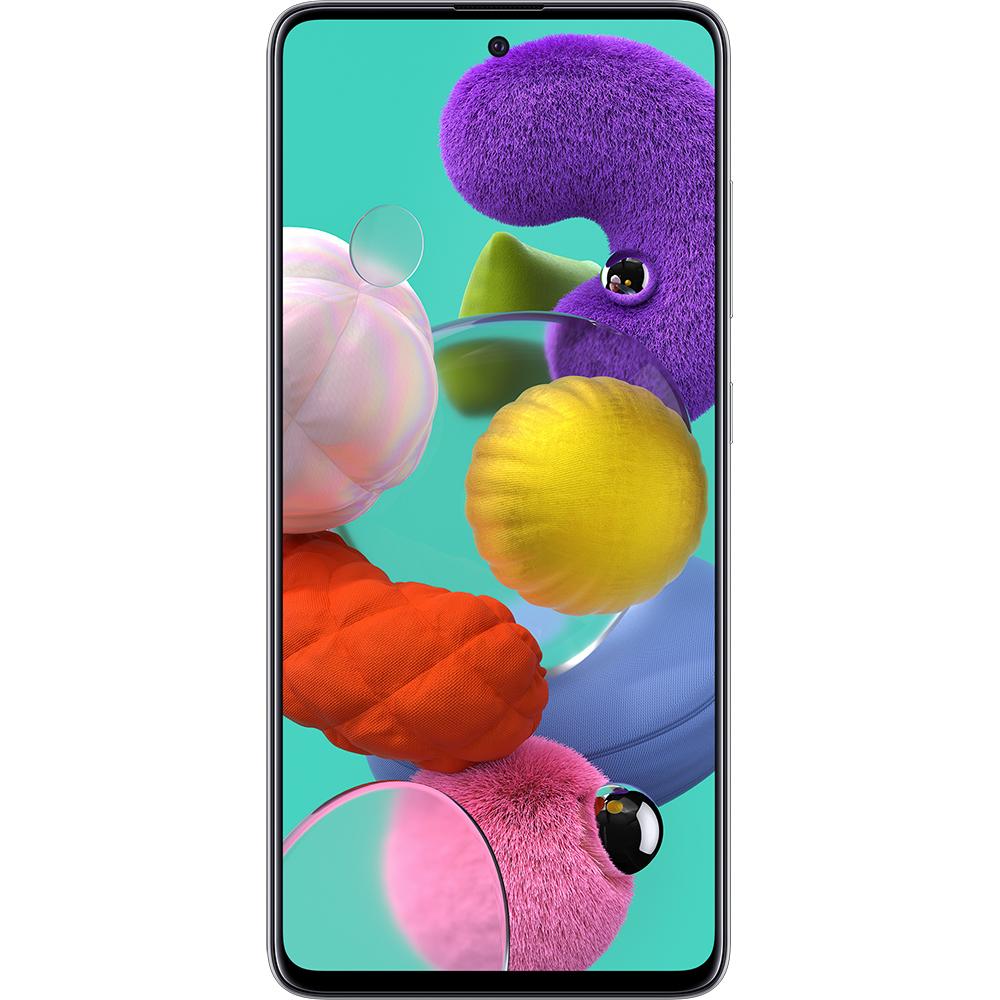 Galaxy A51 Dual Sim Fizic 128GB LTE 4G Alb 6GB RAM