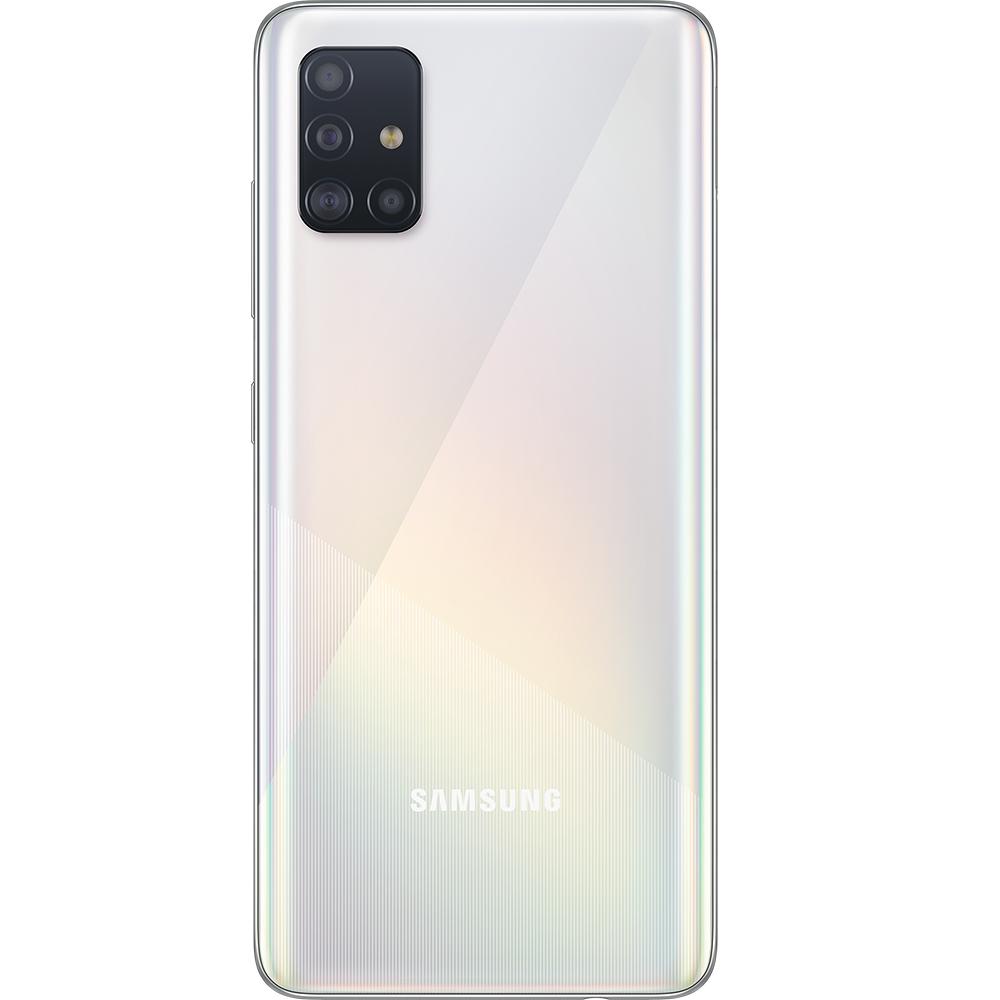 Galaxy A51 Dual Sim Fizic 128GB 5G Alb 6GB RAM