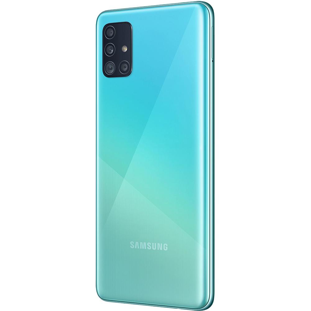 Galaxy A51 Dual Sim Fizic 128GB LTE 4G Albastru 8GB RAM