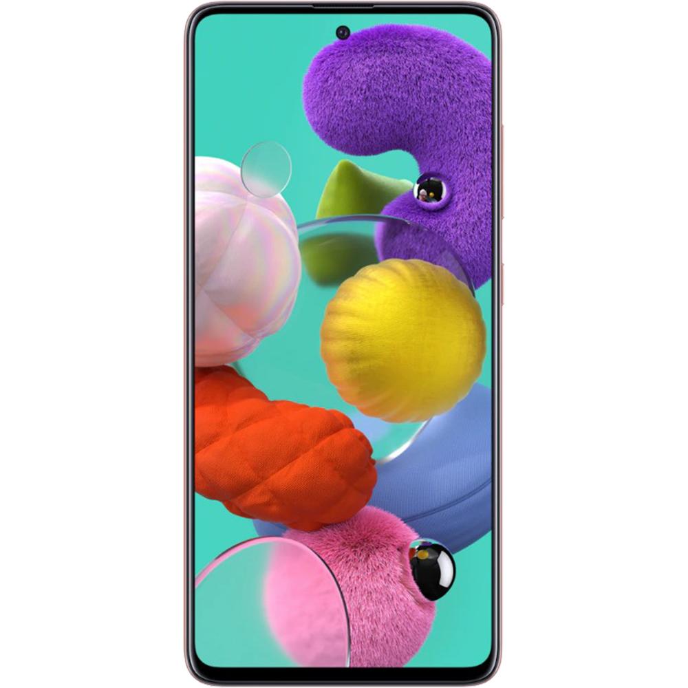 Galaxy A51 Dual Sim Fizic 128GB LTE 4G Roz 8GB RAM