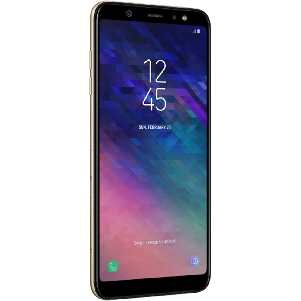 Galaxy A6 Plus 2018 Dual Sim Fizic 32GB LTE 4G Auriu 3GB RAM