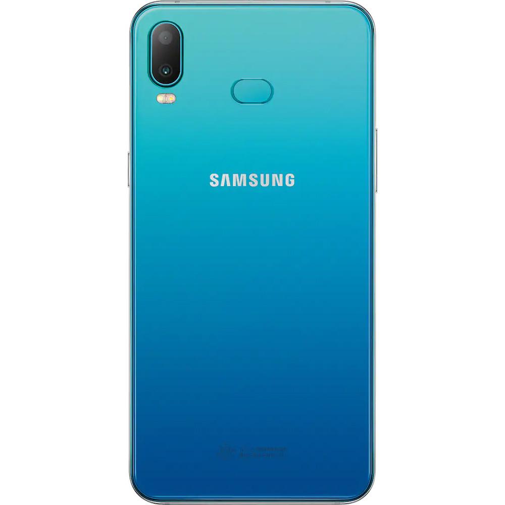 Galaxy A6s Dual Sim Fizic 64GB LTE 4G Albastru 6GB RAM