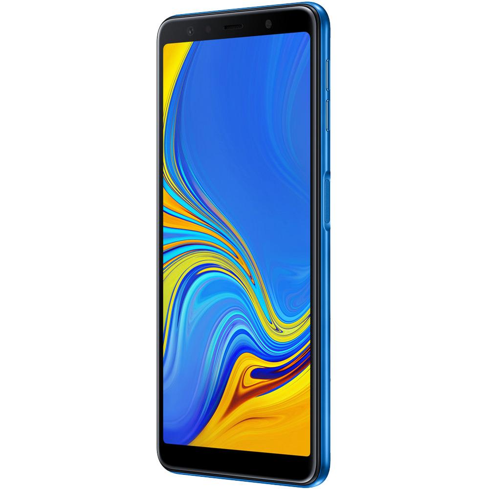 Galaxy A7 2018 Dual Sim 128GB LTE 4G Albastru 4GB RAM