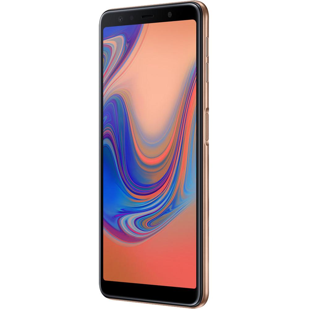Galaxy A7 2018 Dual Sim 128GB LTE 4G Auriu 4GB RAM