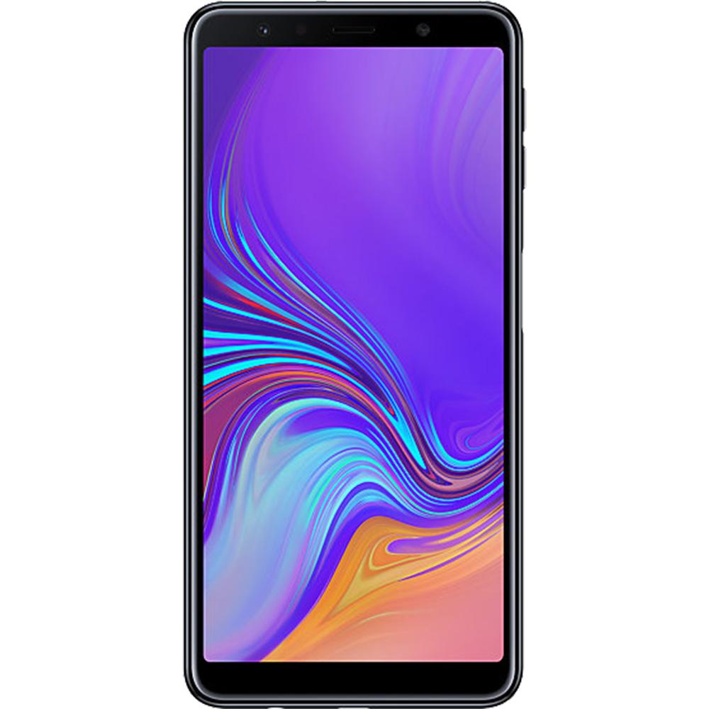 Galaxy A7 2018 Dual Sim 128GB LTE 4G Negru 4GB RAM