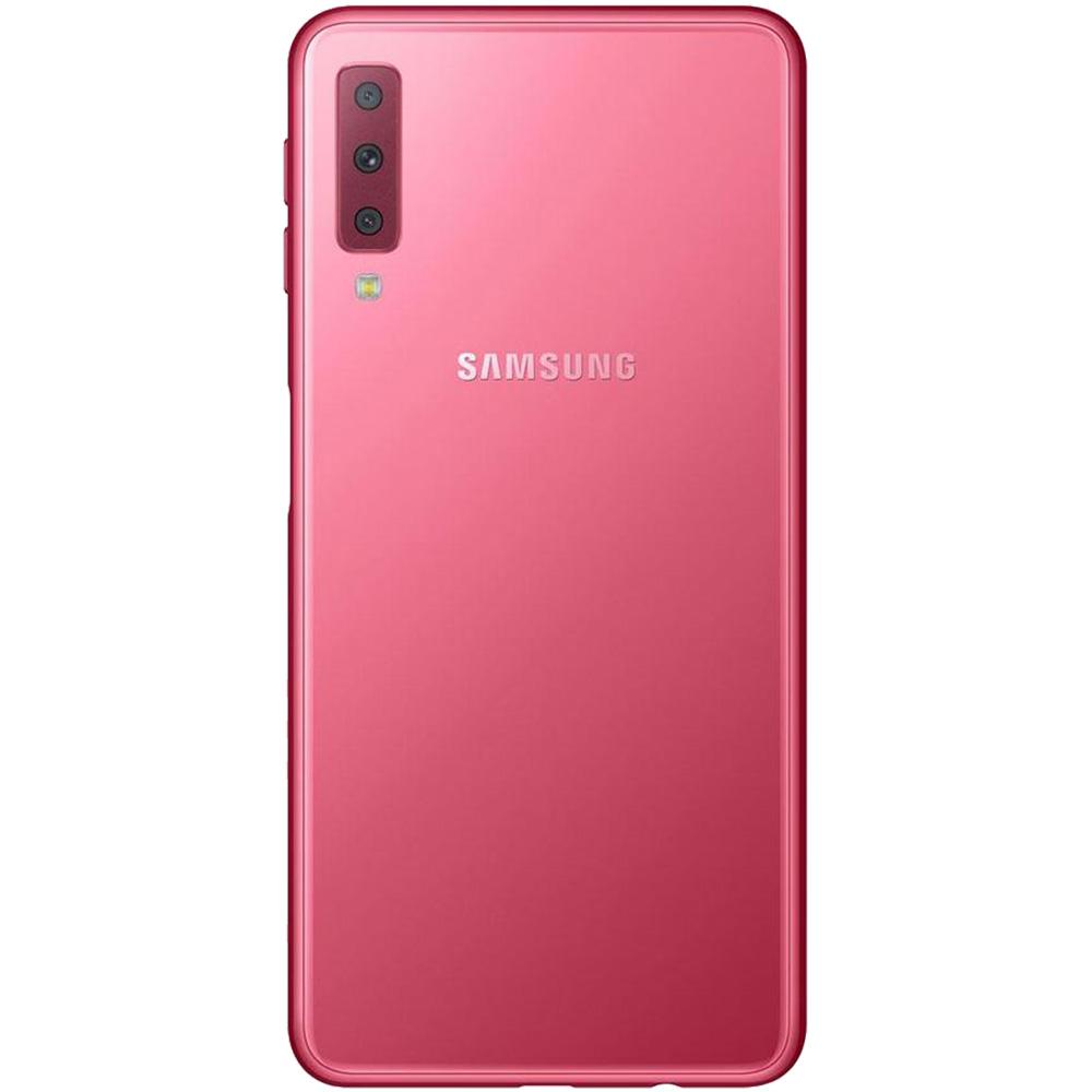 Galaxy A7 2018  Dual Sim 128GB LTE 4G Roz  4GB RAM