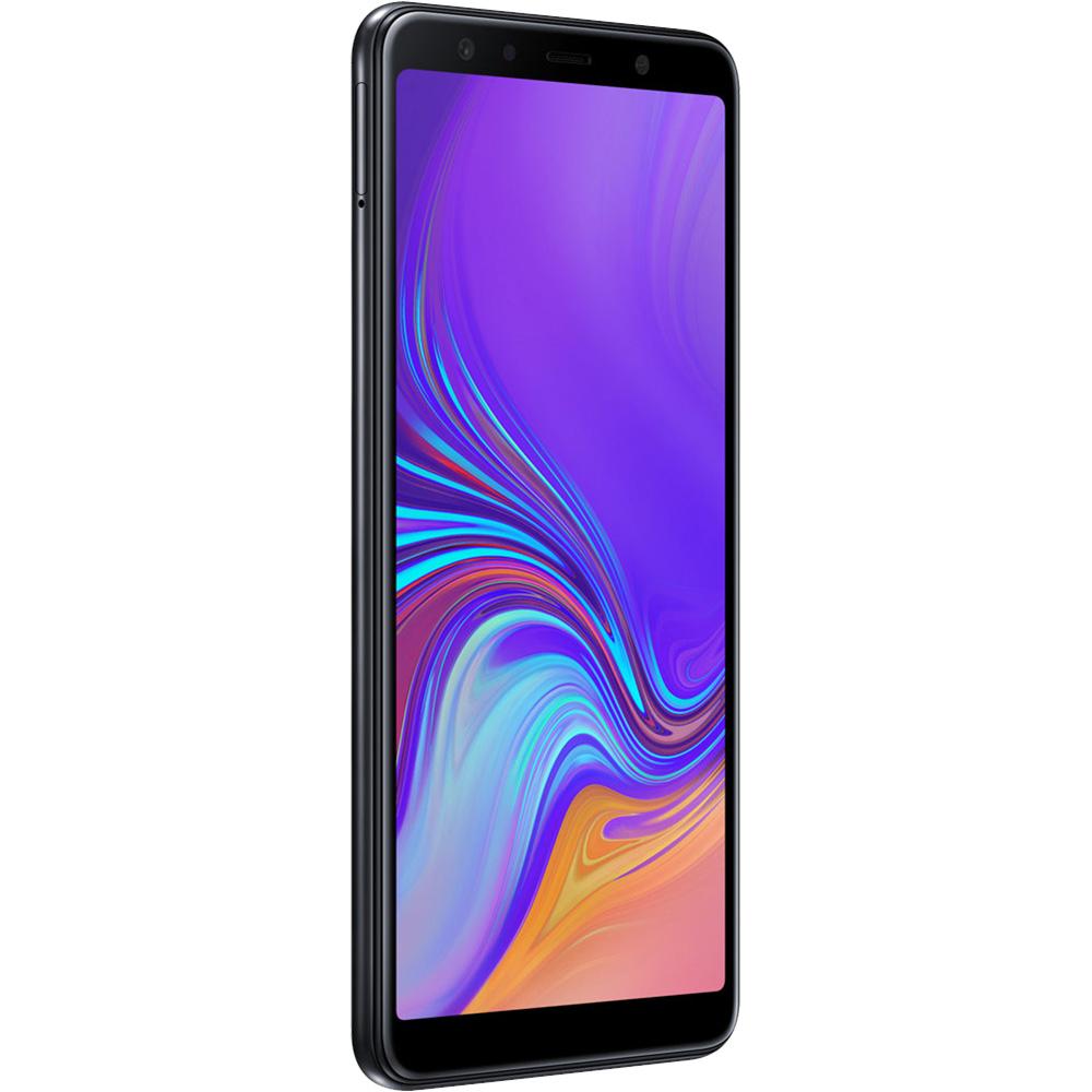 Galaxy A7 2018  Dual Sim 64GB LTE 4G Negru  4GB RAM