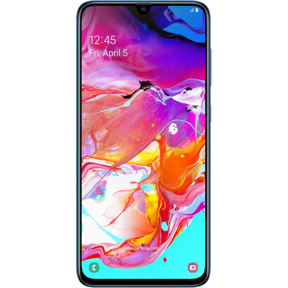 Galaxy A70 Dual Sim Fizic 128GB LTE 4G Albastru 6GB RAM