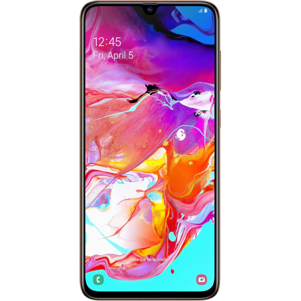 Galaxy A70  Dual Sim 128GB LTE 4G Portocaliu Coral 6GB RAM