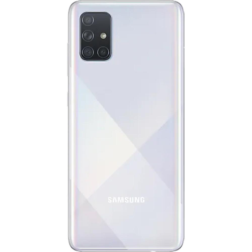 Galaxy A71 Dual Sim Fizic 128GB LTE 4G Argintiu Prism Crush 8GB RAM