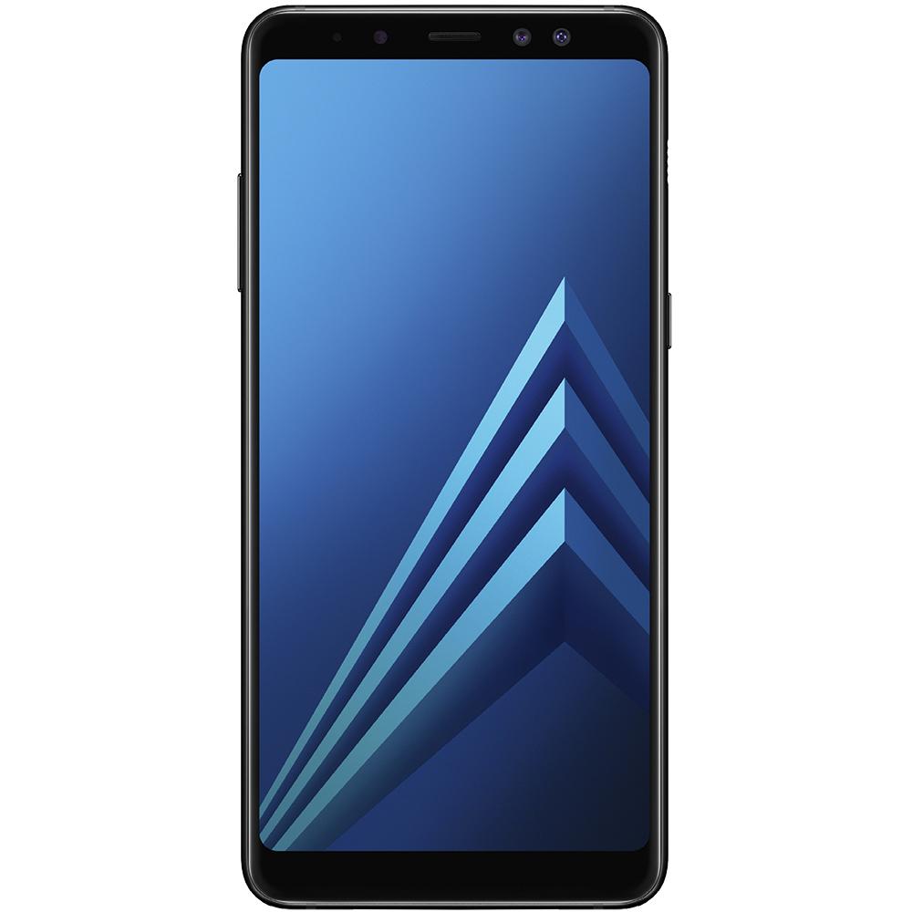 Galaxy A8 2018 Dual Sim 64GB LTE 4G Negru 4GB RAM