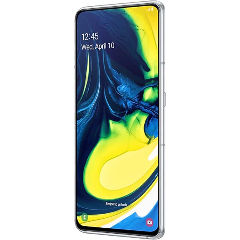 Galaxy A80  Dual Sim 128GB LTE 4G Alb  8GB RAM