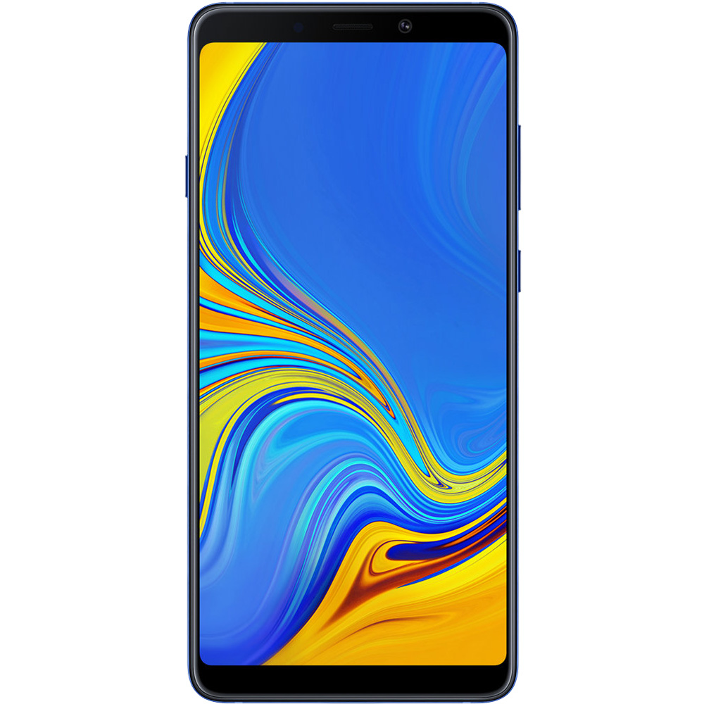 Galaxy A9 2018 Dual Sim Fizic 128GB LTE 4G Albastru 6GB RAM