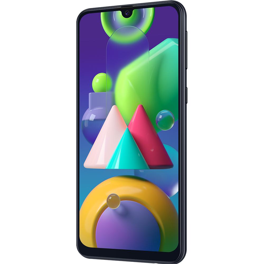 Galaxy M21 Dual Sim Fizic 64GB LTE 4G Negru With HF & NFC 4GB RAM