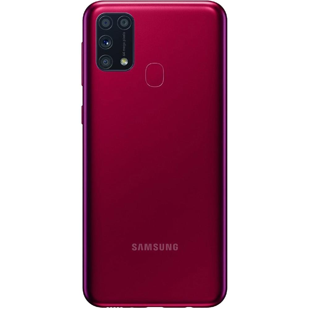Galaxy M31 Dual Sim Fizic 128GB LTE 4G Rosu 6GB RAM