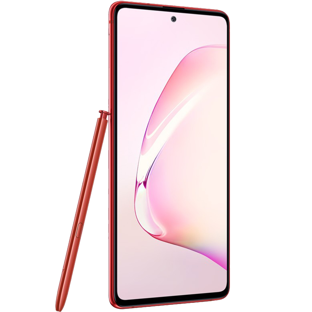 Galaxy Note 10 Lite Dual Sim Fizic 128GB LTE 4G Rosu Aura 8GB RAM