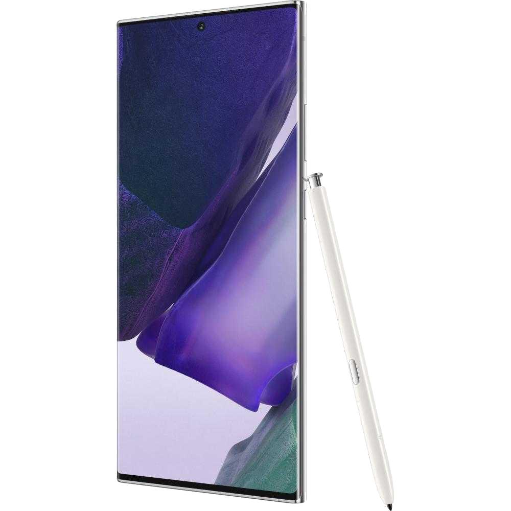 Galaxy Note 20 Ultra Dual Sim Fizic 256GB 5G Alb Snapdragon 12GB RAM