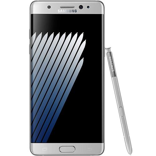 Galaxy Note 7 Dual Sim 64GB LTE 4G Argintiu + Card Memorie 128GB