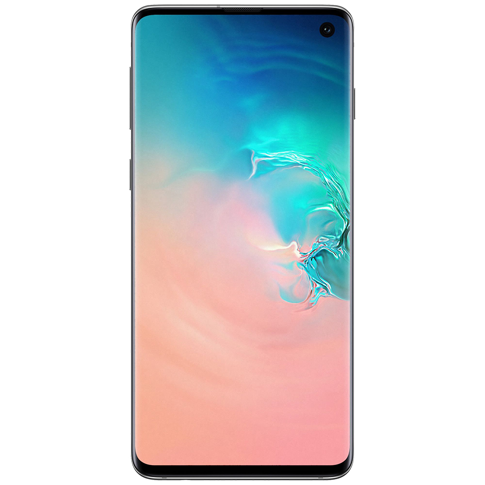 Galaxy S10 128GB LTE 4G Alb Snapdragon 8GB RAM Reconditionat A+
