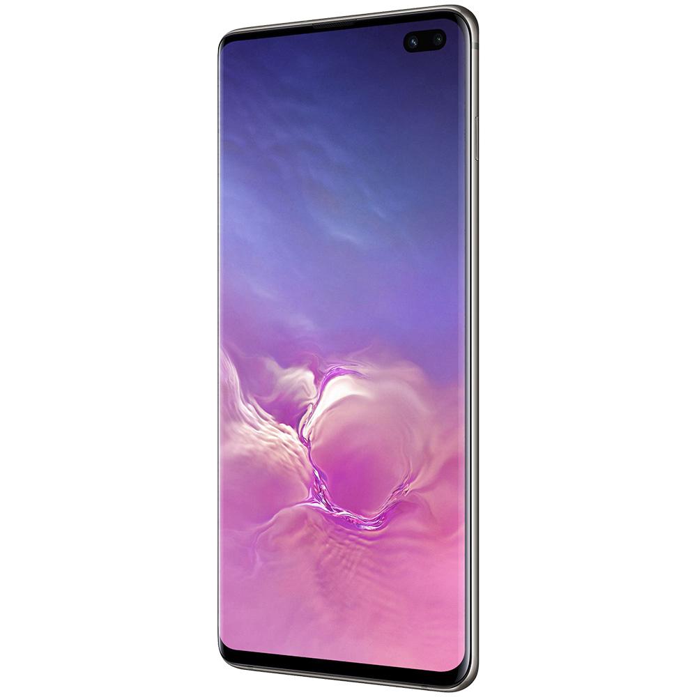 Galaxy S10 Plus 128GB LTE 4G Negru Snapdragon 8GB RAM Reconditionat A+