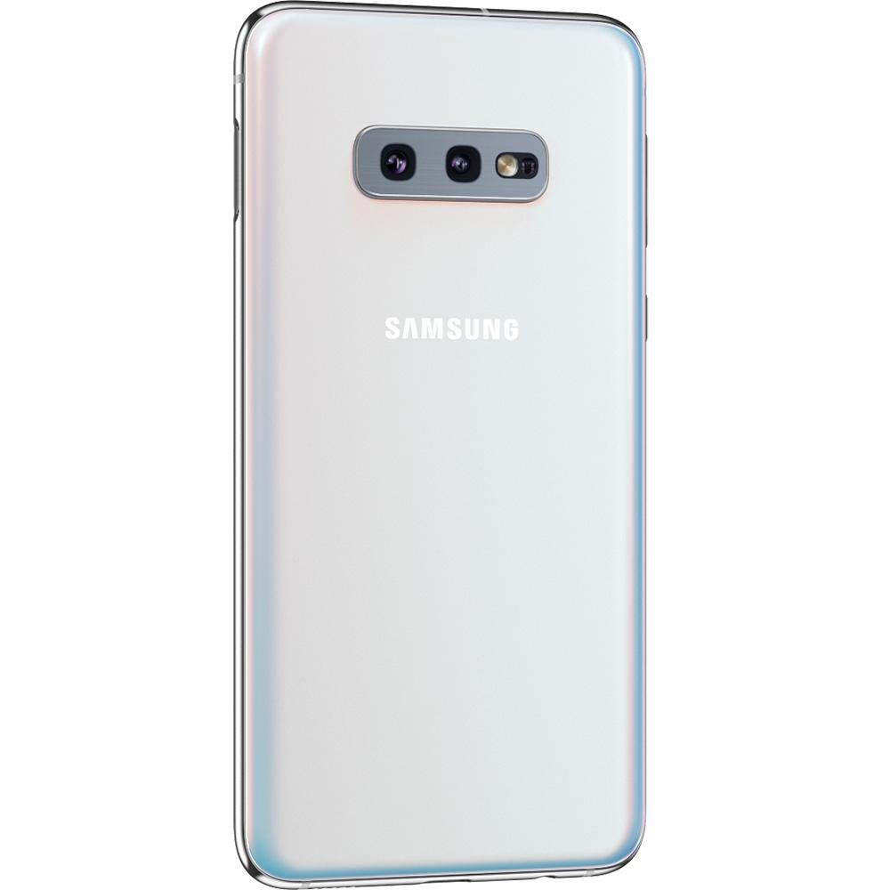 Galaxy S10E Dual Sim 128GB LTE 4G Alb 6GB RAM Reconditionat A+