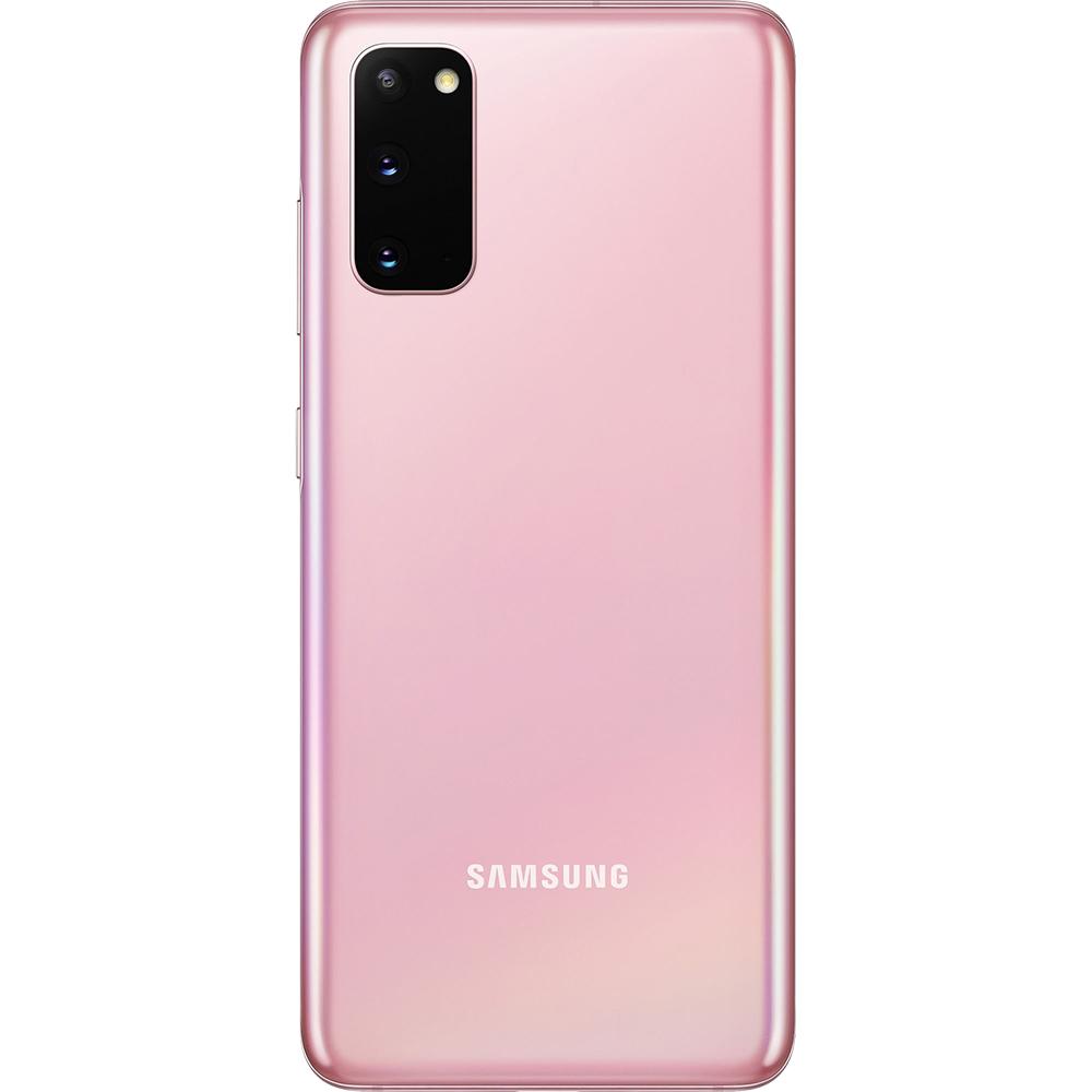 Galaxy S20 Dual Sim Fizic 128GB 5G Roz Cloud Pink Snapdragon 12GB RAM