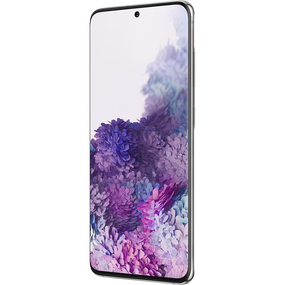 Galaxy S20 Dual Sim Hybrid 128GB LTE 4G Alb Cloud White Exynos 8GB RAM
