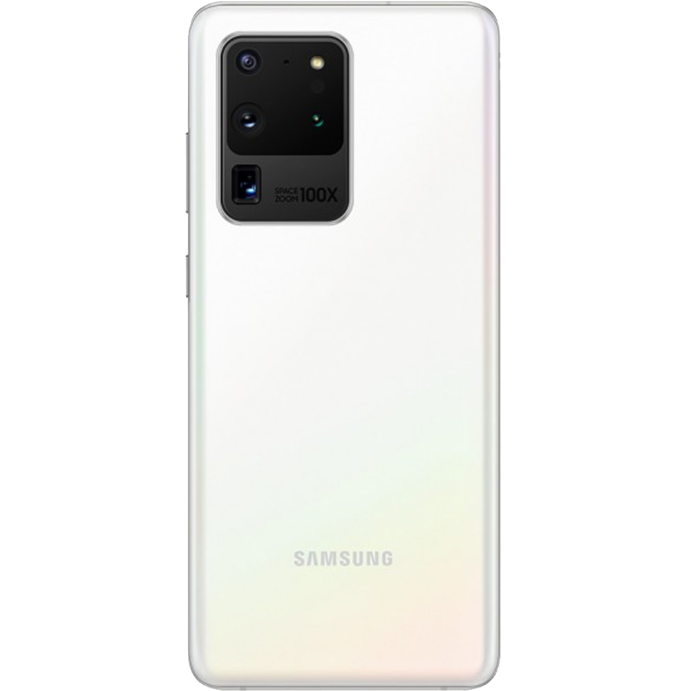 Galaxy S20 Ultra Dual Sim Fizic 256GB 5G Alb Cloud White Snapdragon 12GB RAM