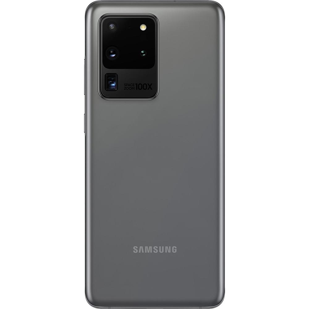 Galaxy S20 Ultra Dual Sim Fizic 256GB 5G Gri Cosmic Gray Snapdragon 12GB RAM
