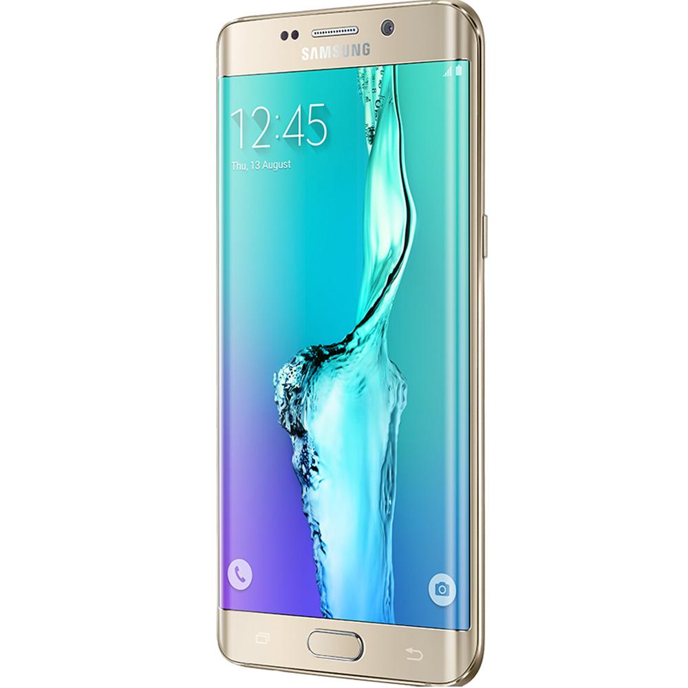 Galaxy S6 Edge Plus Dual Sim 32GB LTE 4G Auriu 4GB RAM