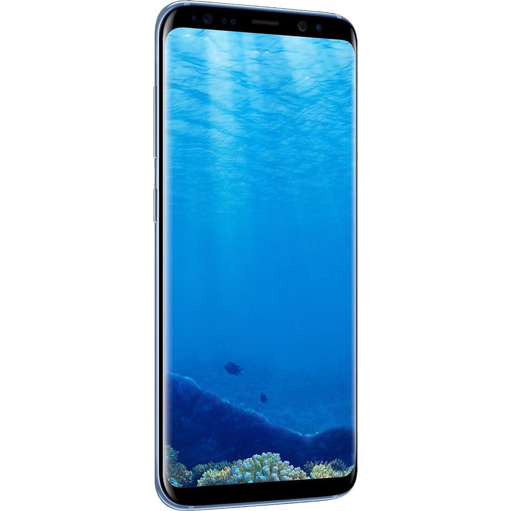 Galaxy S8 Dual Sim 64GB LTE 4G Albastru 4GB RAM