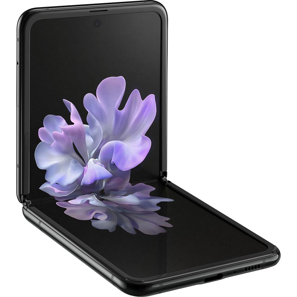 Galaxy Z Flip Dual Sim eSim 256GB LTE 4G Negru Mirror Black Snapdragon 8GB RAM
