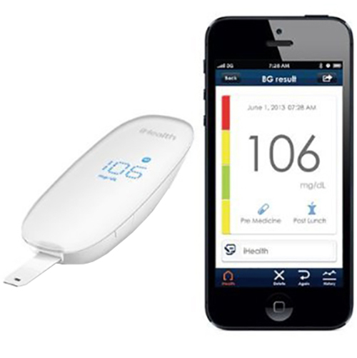 Glucometru IHEALTH Wireless Alb BG5