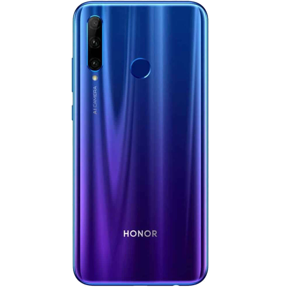 Honor 20 Lite Dual Sim Fizic 128GB LTE 4G Albastru Phantom 4GB RAM