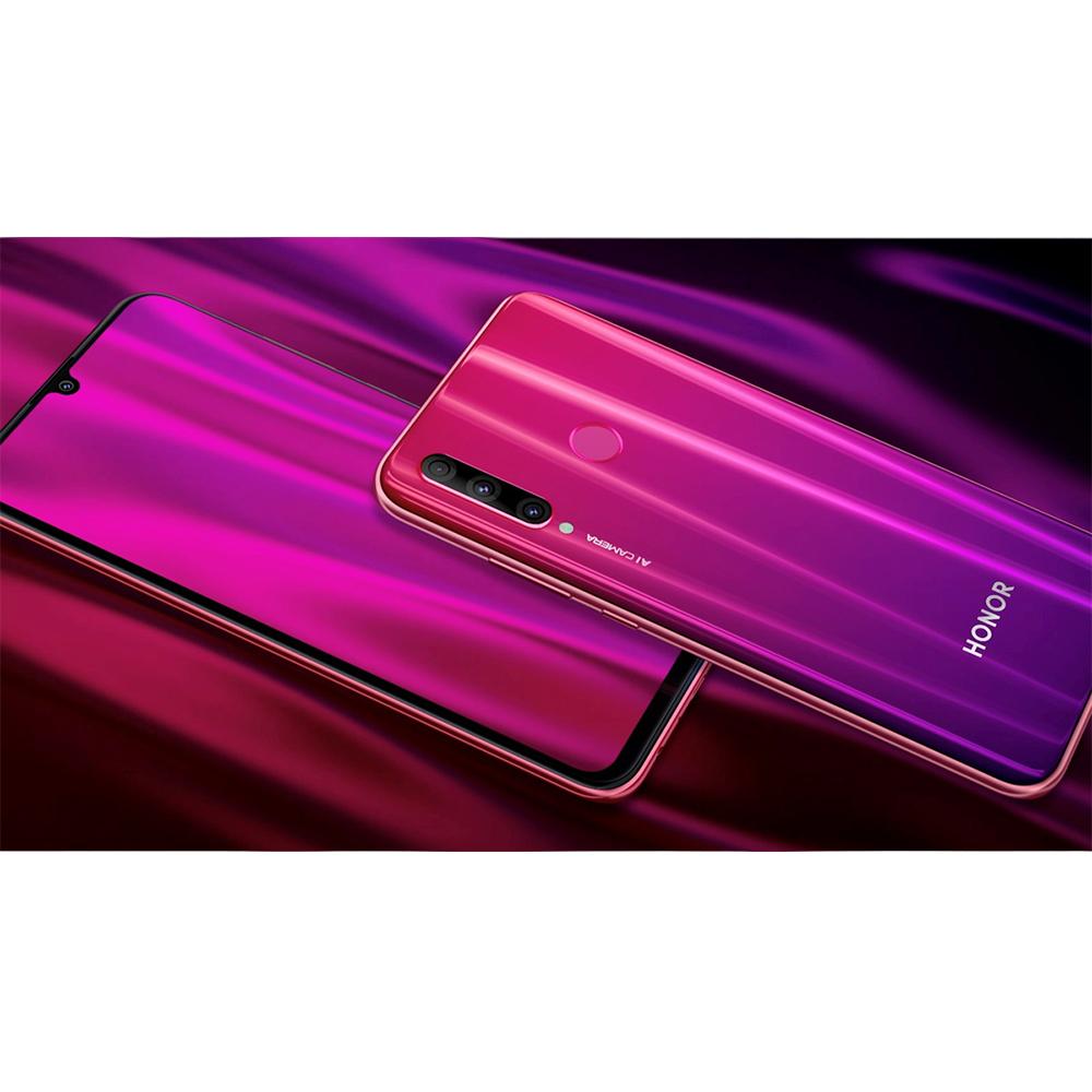 Honor 20 Lite  Dual Sim 128GB LTE 4G Rosu Phantom 4GB