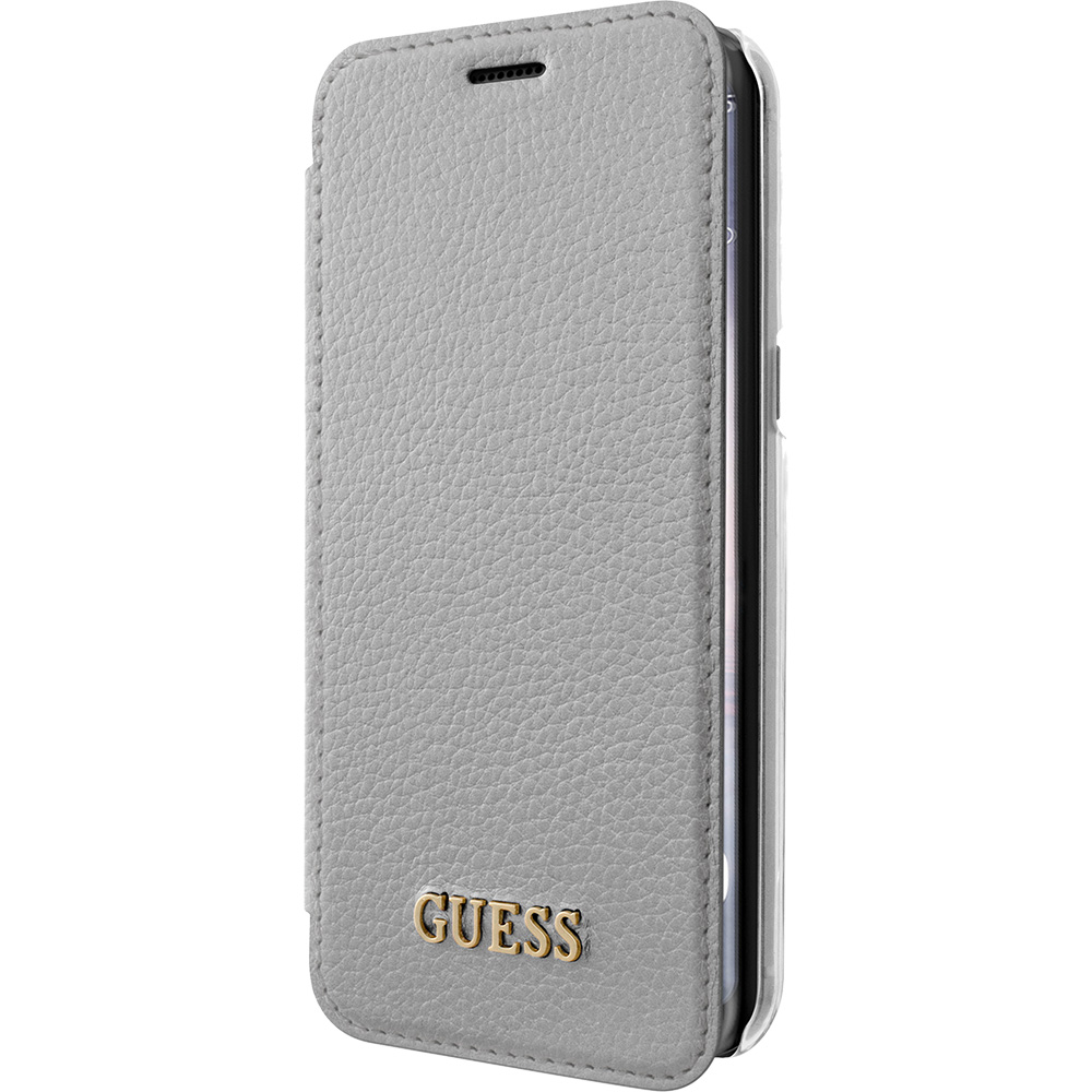 Husa Agenda Argintiu SAMSUNG Galaxy S8 Plus