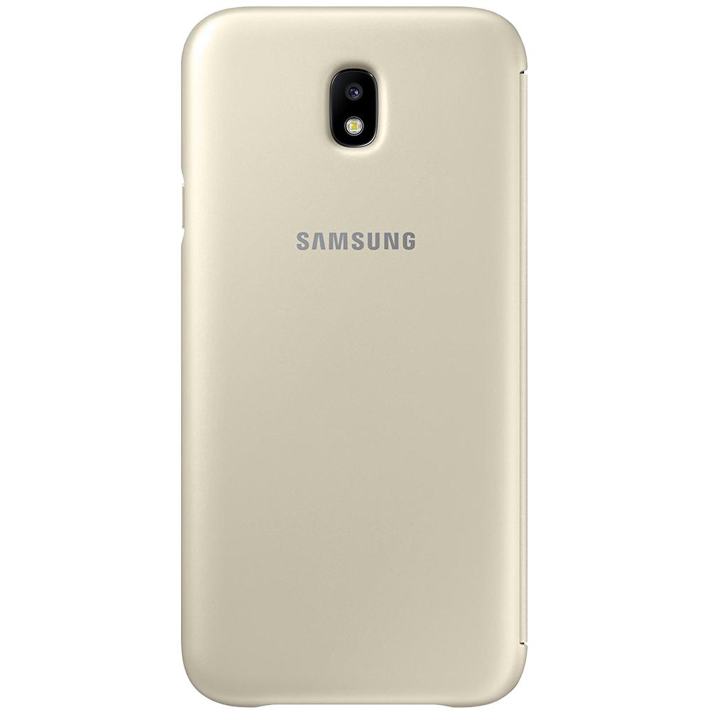 Husa Agenda Auriu SAMSUNG Galaxy J7 2017
