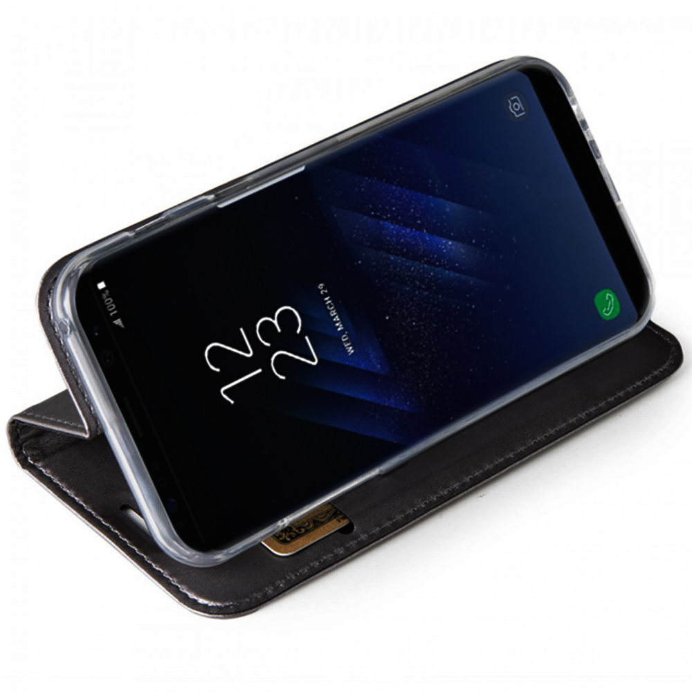 Husa Agenda Card Slot Negru SAMSUNG Galaxy S8 Plus