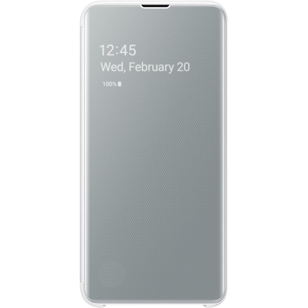 Husa Agenda Clear View Alb SAMSUNG Galaxy S10E